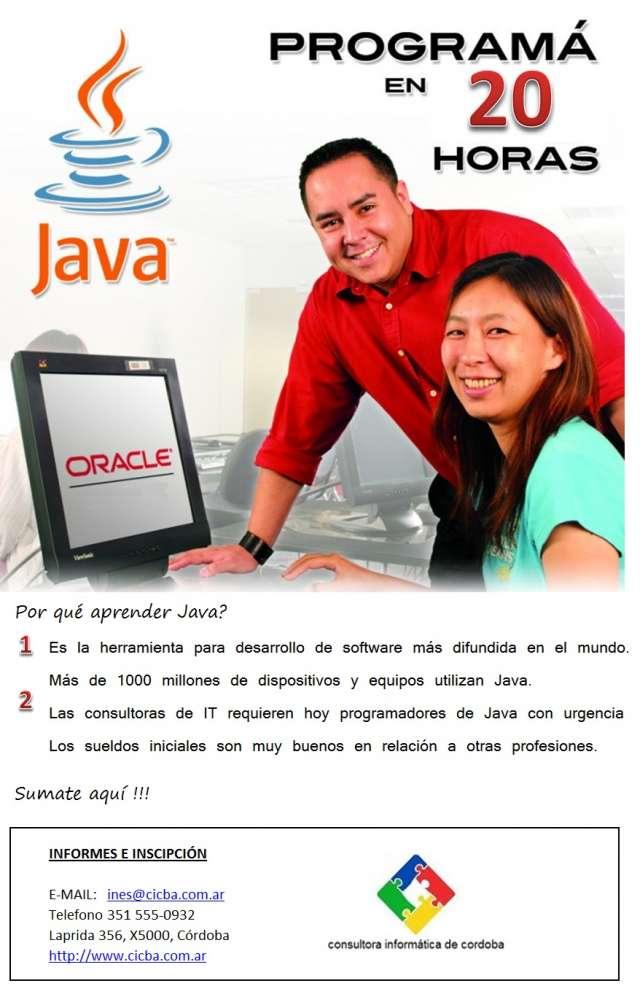 Fotos de Cursos de java, oracle. cicba consultora informática cordoba. 2