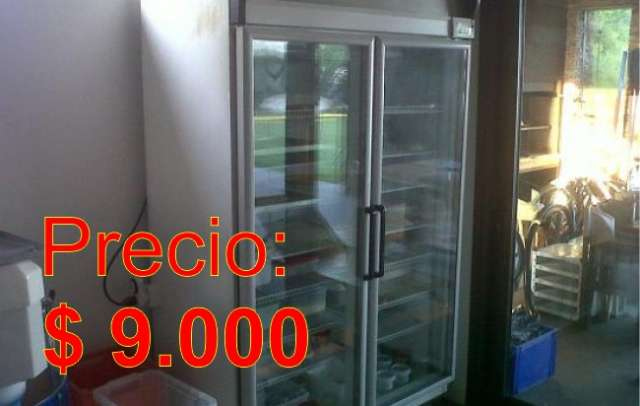 Heladera exhibidora vertical 2 puertas - usada ¡impecable!