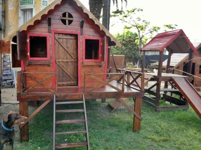 Fabricacion artesanal de casitasinfantiles de madera !