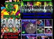 Alquiler de luces,sonido,karaoke42480713zona sur