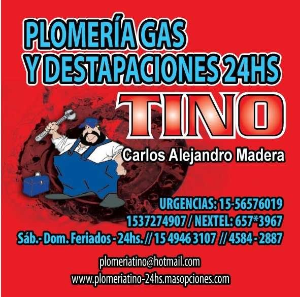 Plomero puerto madero 1549463107 urgencias 1556576019 tino