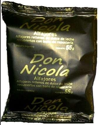 Alfajores don nicola simples de 55g