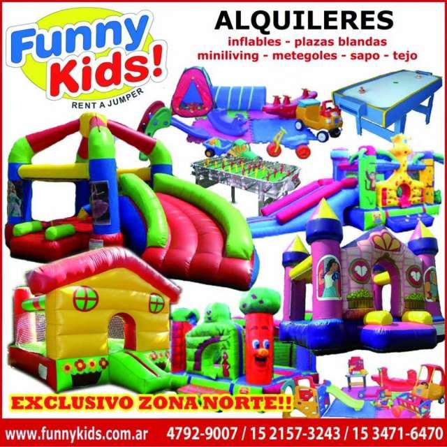 Alquiler Inflables Juegos En San Isidro Livings Sillas Mesas Para