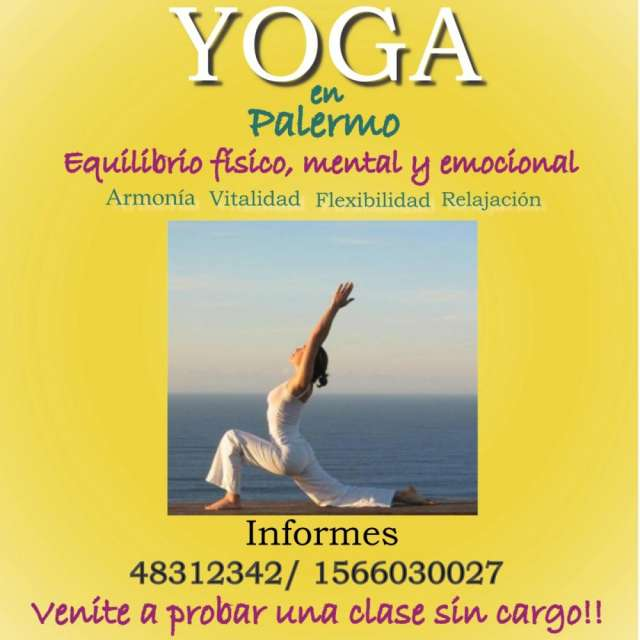 Clases de yoga. flor de la vida. palermo en Palermo - Otros ... ba3d4f7a7940