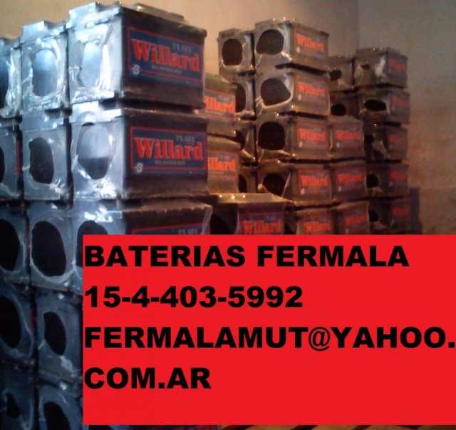 Baterias acumuladores willard y moura no guidovernis si fermala