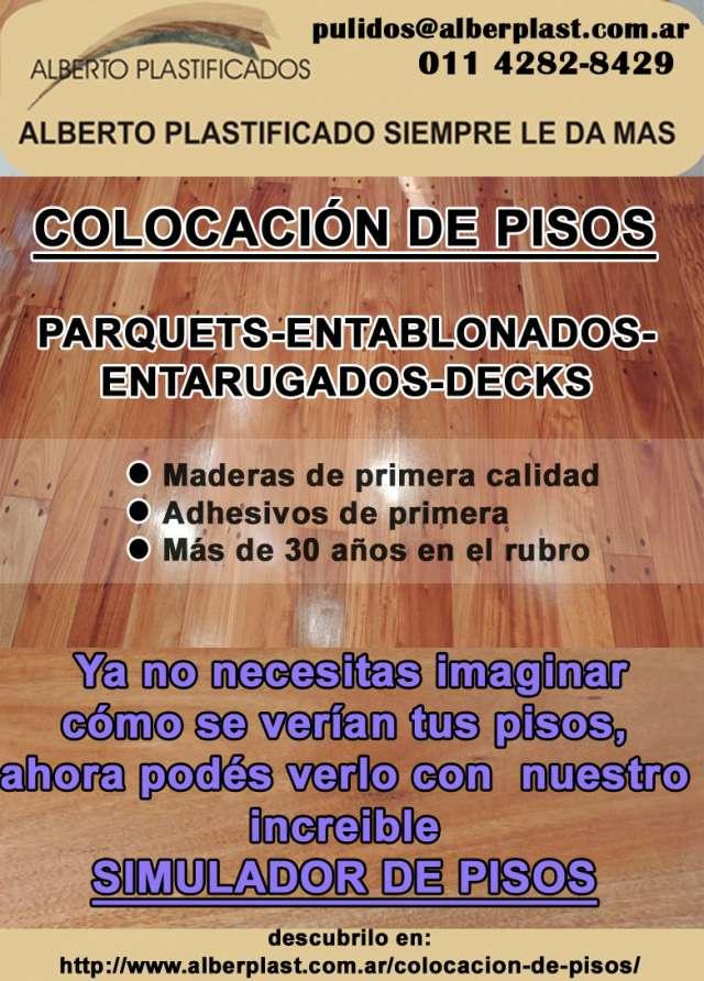 Colocación pisos de madera y revestimiento escaleras
