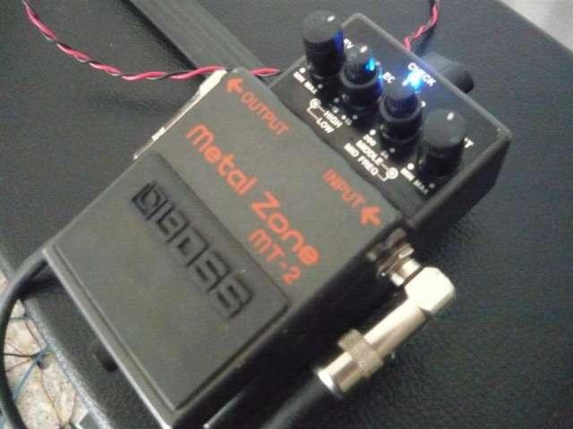 Vendo pedal metal zone mt-2 diezel mod excelente estado a $550!!