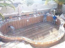 Construcción de piscinas agua limpia
