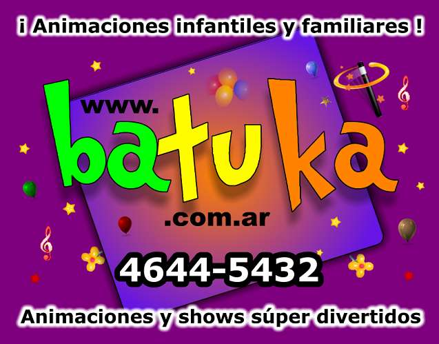 Spa infantil, batuka.com.ar, animacion spa infantiles