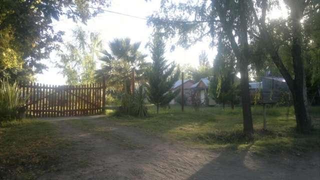 Casa quinta con cabañas vendo en san rafael mendoza