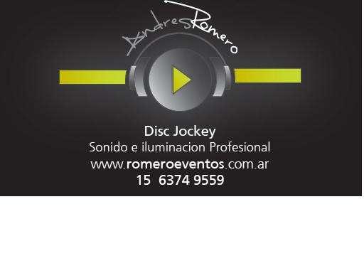 Disc jockey - sonido e iluminación profesional de fiestas y eventos