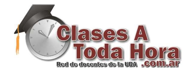 Clases particulares y cursos algebra cbc de ingenieria