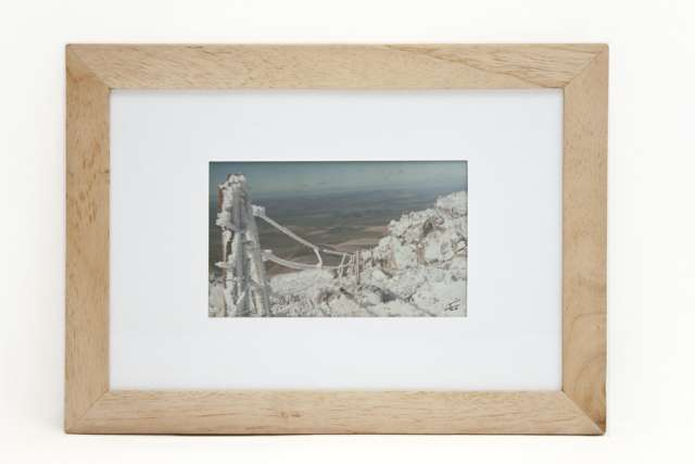 Cuadro paisaje 35x25cm. foto de autor firma y nro serie