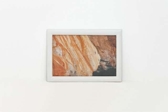 Cuadro abstracto 20x14cm foto de autor firma y nro. serie