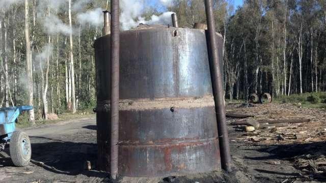 Hornos Metalicos Para Fabricar Carbon Vegetal En Suncho