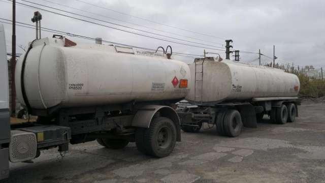 Equipo tanque de aluminio de 39000 litros