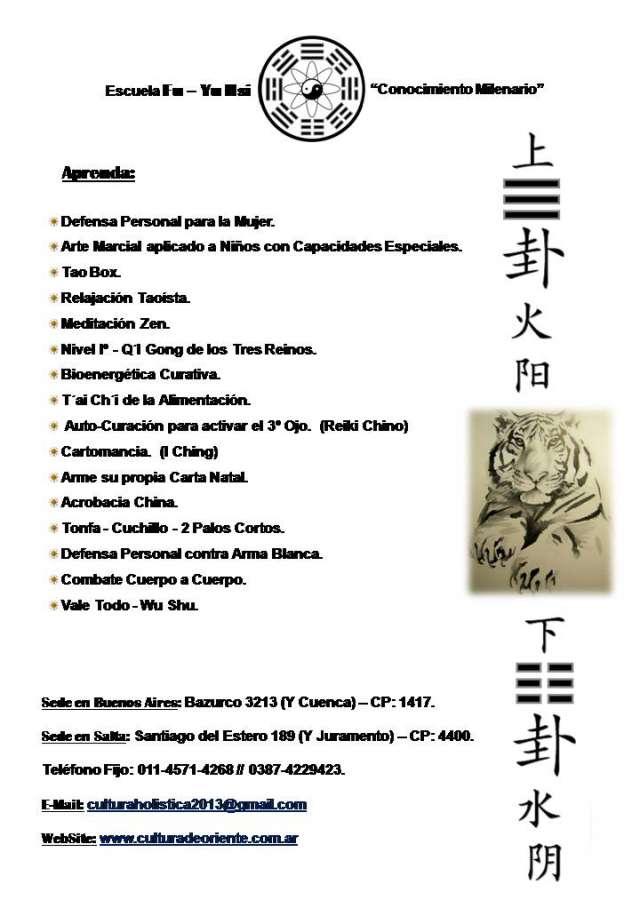 Artes orientales y cultura holística