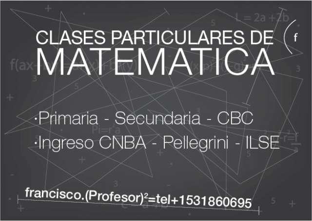 Matemática- física. clases particulares