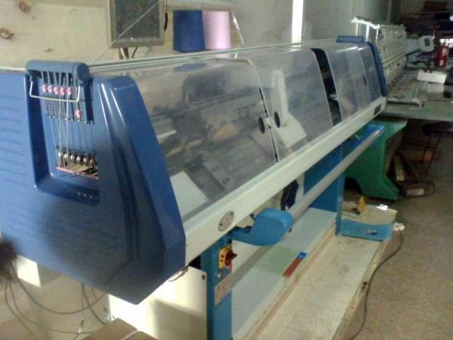 Vdo. maquina tejedora galga 12 full jakquard industrial