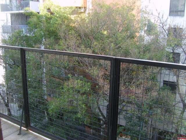 Alquiler temporario departamento 2 ambientes con balcón al frente