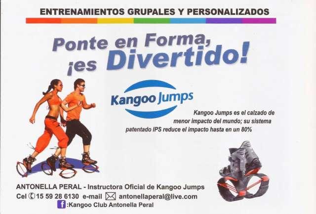 Kangoo jumps - clases individuales y grupales en Mataderos - Otros ... 459f1ae9b084