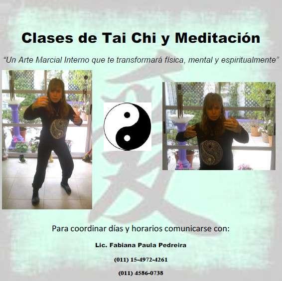Clases de tai chi y meditación en Caballito - Otros Servicios  cb7f0f997825