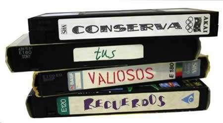Cómo limpiar los cassettes vhs para cuidarlos del paso del tiempo