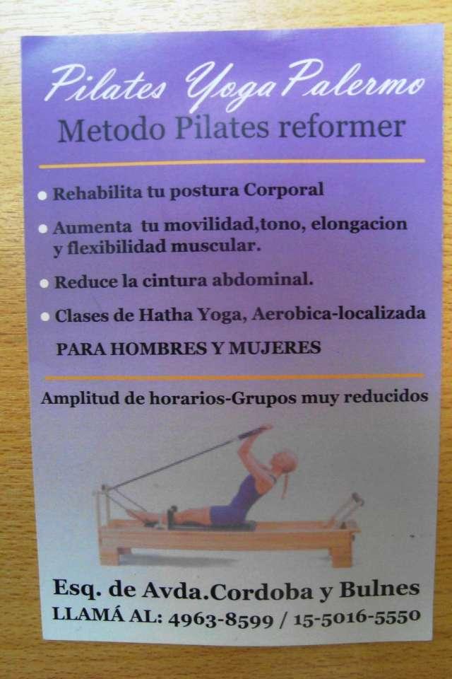 Pilates yoga palermo