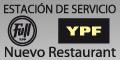 Estacion de servicio ypf - nuevo restaurant