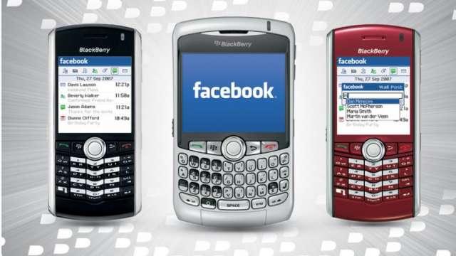 Facebook estaría por comprar a blackberry