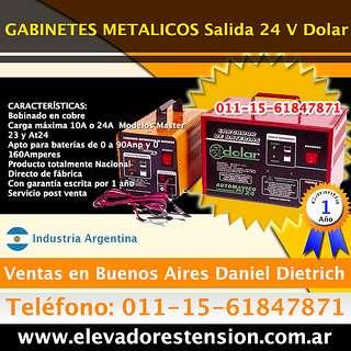 Cargadores de mantenimiento - cargadores automaticos