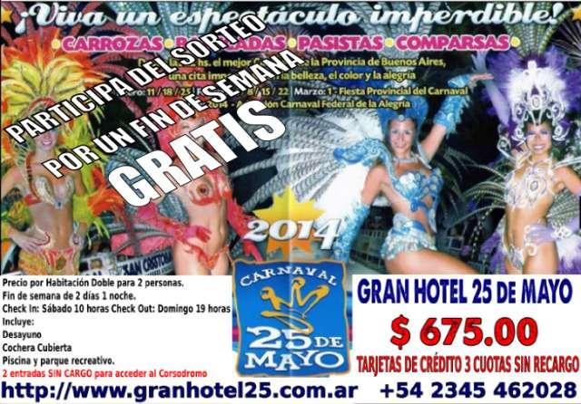 25 de mayo - la ciudad del carnaval