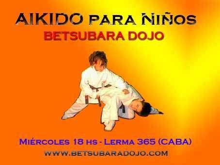 Clases de aikido para niños