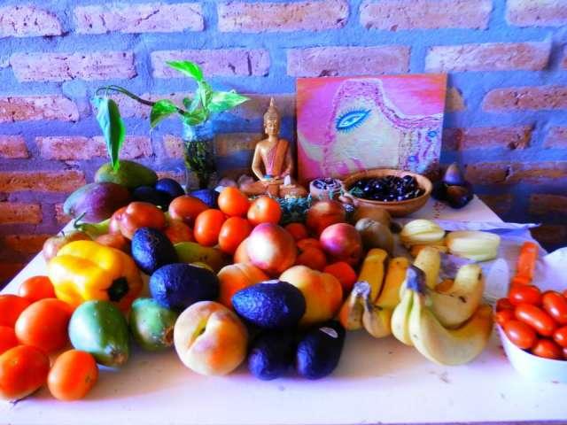 Seminario de alimentación consciente natural anna yoga en cordoba sierras