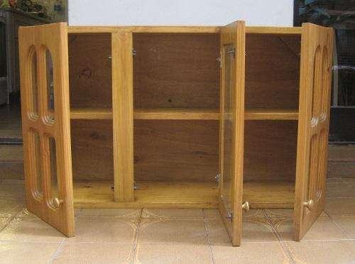 Puertas de cocina de madera gallery of cargando zoom with for Alacenas de madera
