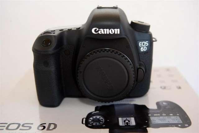 Canon 6d wg nueva de fabrica en caja-lista para retirar !!!