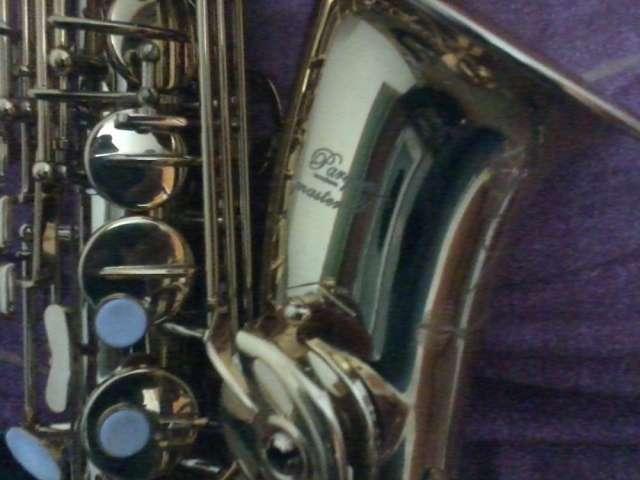 Vendo saxofon alto parquer gold master poco uso buen estado
