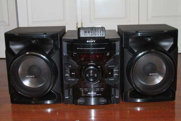 Equipo de audio sony genezi mhc-gtr333 excelente estado!