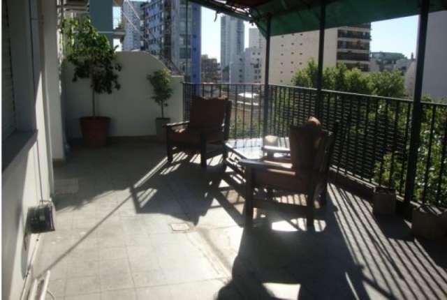 2 amb - acevedo al 400, entre corrientes y leiva - balcon terraza, 2 camas - cerca htal italiano, uba, iuna,