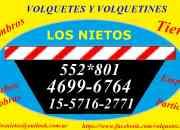 ALQUILER DE VOLQUETES Y VOLQUETINES ZONA OESTE