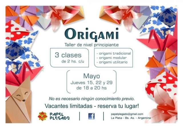 Talleres de origami. distintos niveles.