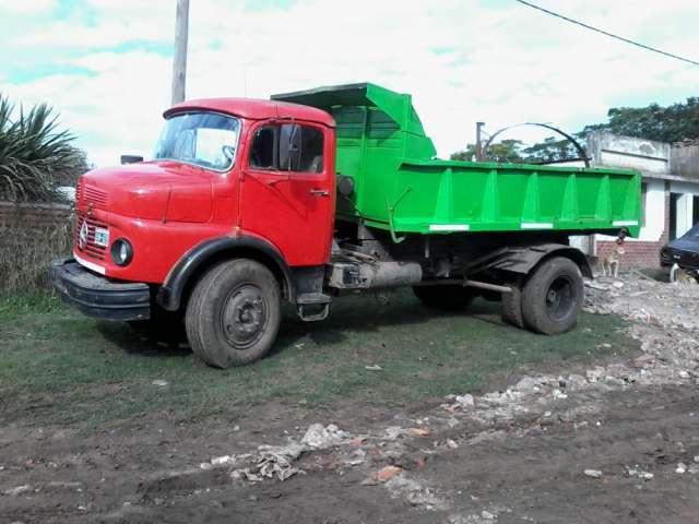 Vendo camión mercedes benz 1112 con mecánica 1114