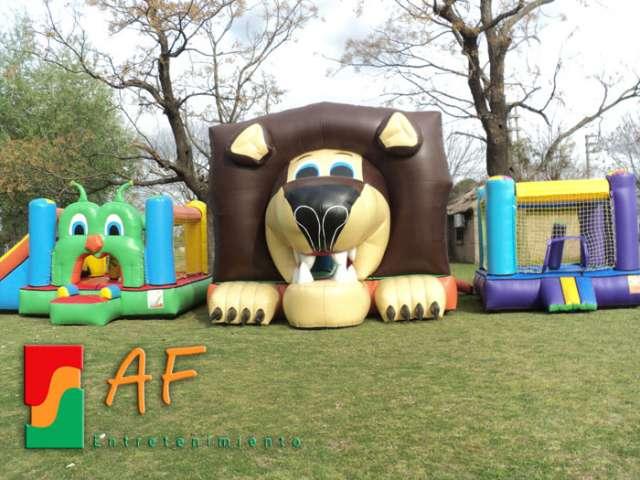 Alquiler de inflables metegol tejo ping pong cama elastica mini poo