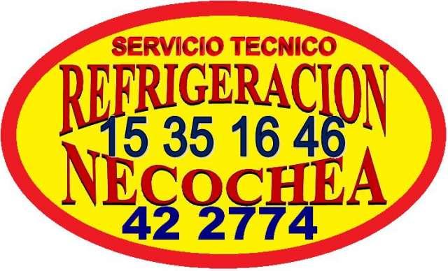 Refrigeracion necochea tel: 422774 servicio tecnico heladeras