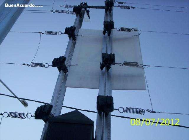 Fotos de Cercos electricos y concertinas sistemas perimetrales mendoza 2