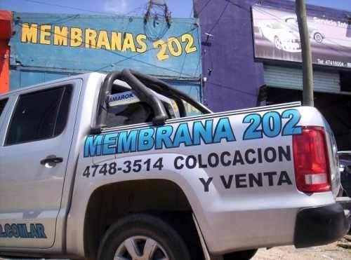 Membranas megaflex/ venta / reparacion / cotizaciones