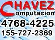 Servicio tecnico pc a domicilio chavez computacion