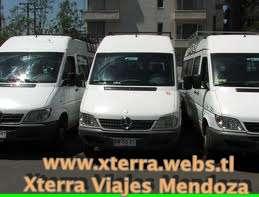 Alquiler combis mendoza, vans, minibus, trafic, travel, las leñas, penitentes, uspallata