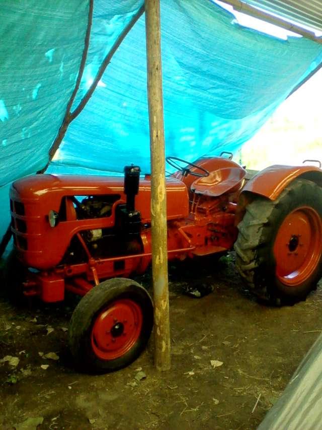 Tractor fahr a30 completo