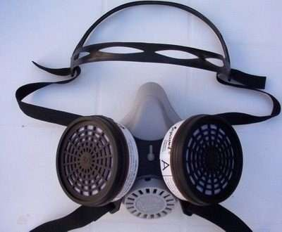 Semi mascara segurind 2 filtros